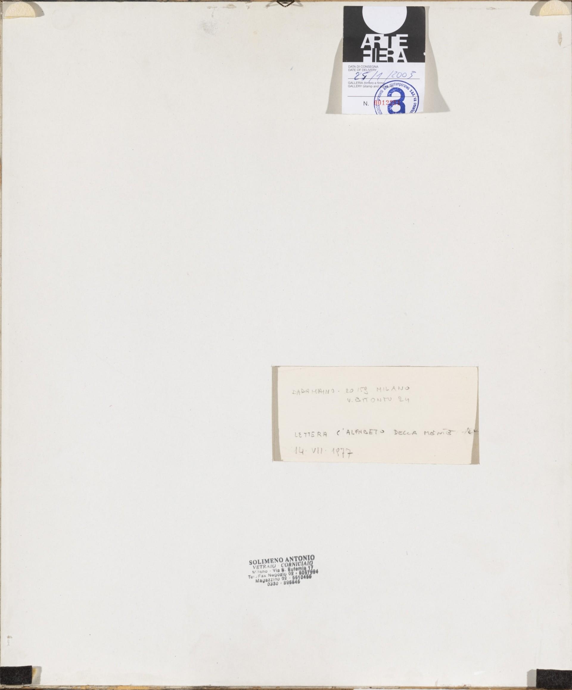 alfabeto datazione d